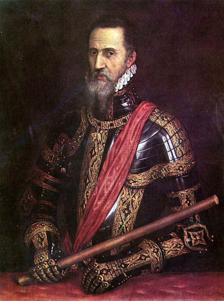 Retrato del Gran Duque de Alba realizado por Tiziano